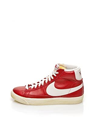 Nike Zapatillas Woman Blazer Mid Leather Vintage (Rojo)