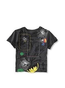 Kid's Republic Boy's Big Meeting Justice League T-Shirt (Rock)