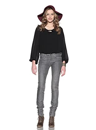 4 Stroke Women's The Rose Skinny Jeans (Evil/Grey)