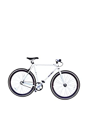 Galaxie Fixed Gear Bike, White/Purple, 54cm