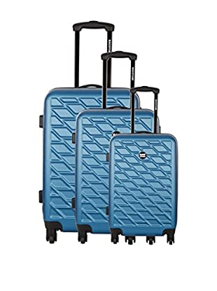 Bag Stone Set de 3 trolleys rígidos Eden