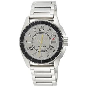 Fastrack Black Magic Analog Silver Dial Men's Watch - NE3089SM02