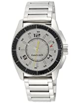 Fastrack Black Magic Analog Silver Dial Men's Watch - NE3089SM02