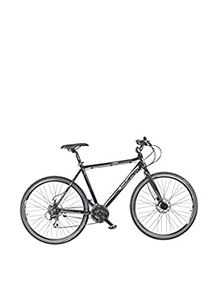 Coppi Fahrrad Hibrida Aluminum Montebianco schwarz