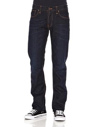 Nudie Jeans Pantalón Average Joe (Azul noche)