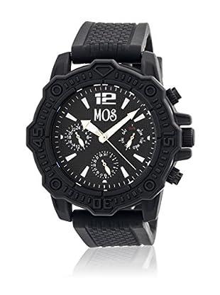 Mos Reloj con movimiento cuarzo japonés Mospg101 Negro 45  mm