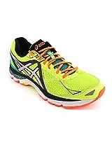 Asics Gt-2000 3 Performance Shoes (Flash Ylw/Sil/Emeraldgrn)