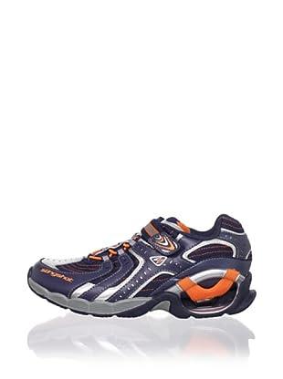 Stride Rite Kid's Slingshot S/O Sneaker (Toddler/Little Kid/Big Kid) (Navy/Orange)