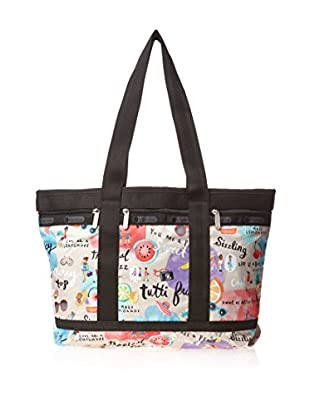 LeSportsac Women's Medium Travel Tote, Tutti Frutti
