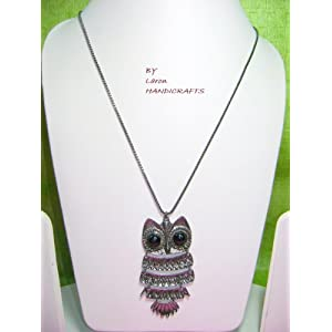 OWL PENDENT NECKLACE