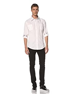 Dorsia Men's Alexander Long Sleeve Shirt (White)