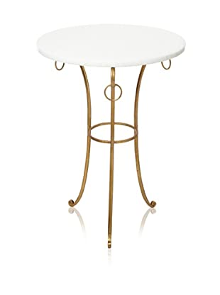 Safavieh Tamara Accent Table (White/Gold)