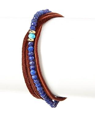 Shashi Iolite Rachel Wrap Bracelet