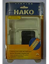 Hako Travel Charger/Adaptor For Panasonic D28S Battery