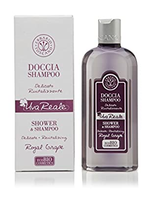 Erbario Toscano Dusch-Shampoo 2er Set Royal Grape (2 x 250 ml) 500 ml, Preis/100 ml: 3.98 EUR