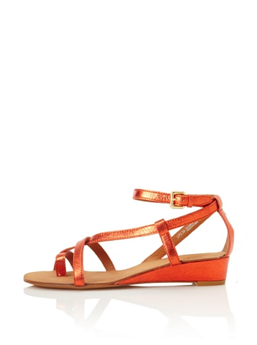 Ash Women's Lips Sandal (Orange)
