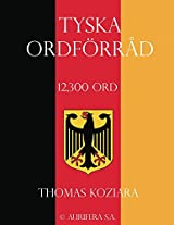 Tyska Ordforrad (Swedish Edition)