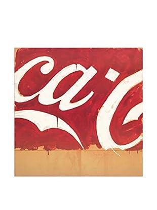 ARTOPWEB Wandbild Schifano Coca Cola 96X96