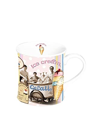 Easy Life Design Tazza in Porcellana Ice Cream 350 ml