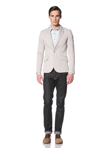 Ted Baker Men's Zura Oxford Blazer (Natural)