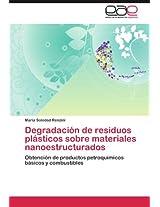 Degradacion de Residuos Plasticos Sobre Materiales Nanoestructurados