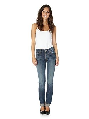 Nudie Jeans Co Jeans Grim Tim Blue Bentley (Blau)
