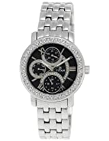 Titan Purple Analog Black Dial Women's Watch - NE9743SM02J