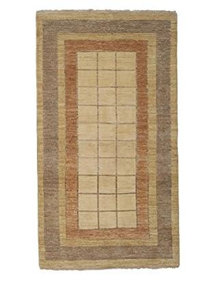 Darya Rugs Modern Oriental Rug, Brown, 3' 5