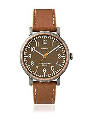 TIMEX Reloj de cuarzo Unisex Unisex Originals Classic Plateado 42 mm