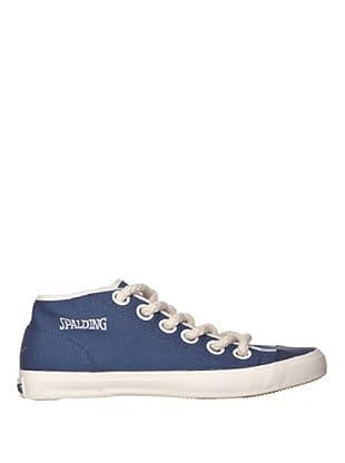 Spalding Zapatillas Net Canvas (Azul)