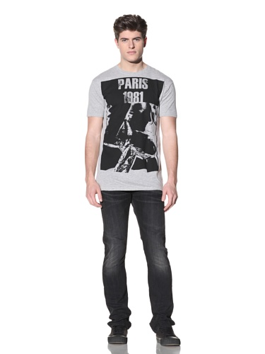 MG Black Label Men's Paris T-Shirt (Grey)