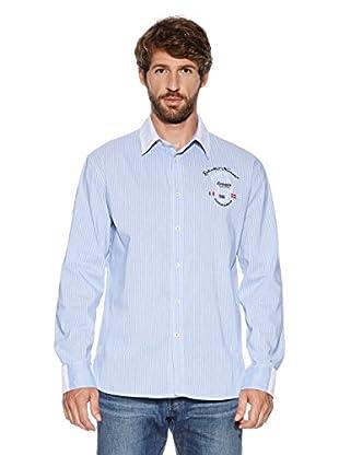 Dolomite Camisa Gl L/S Msh (Azul Claro)