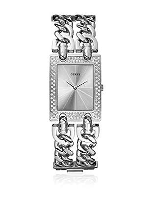 Guess Reloj de cuarzo Woman Plata 20 mm