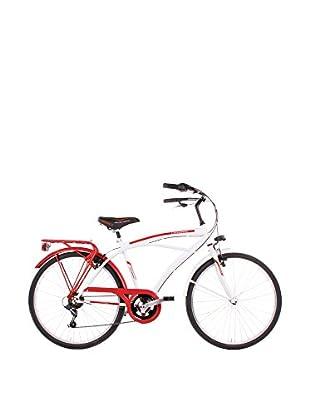 SCHIANO Fahrrad 26 Cruiser 304 schwarz/rot