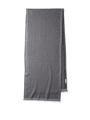 Valentino Women's Wool Damier Scarf, Grey