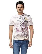 DUSG Lord Krishna Mens Organic T-shirt DUSG 101