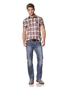 MOD Men's Thomas Straight Leg Jeans (Long Cay Blue)