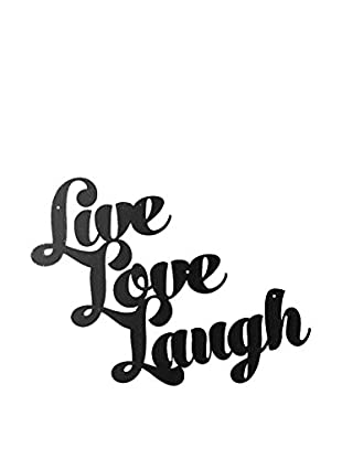 Best Seller Living Wanddeko Live Love Laugh