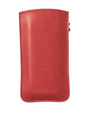 Decoded Bags Men's iPhone 5/5S Leather Pouch, Red, One Size