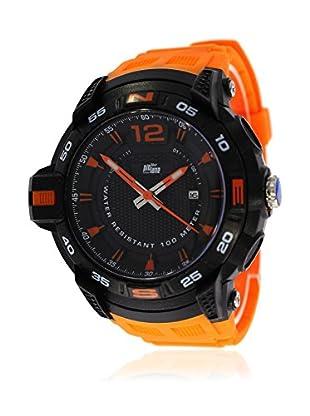 Pit Lane Uhr mit Miyota Uhrwerk Pl-2006-3 orange 50 mm
