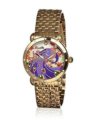 Bertha Uhr mit Japanischem Quarzuhrwerk Didi goldfarben 41 mm