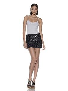 Rebecca Minkoff Women's Lola Miniskirt (Black)