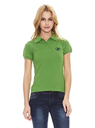 Polo Club Polo Manga Corta Custom Fit Flagler (Verde)