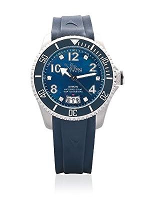 Vip Time Italy Uhr mit Japanischem Quarzuhrwerk VP8034BL_BL blau 40.00  mm