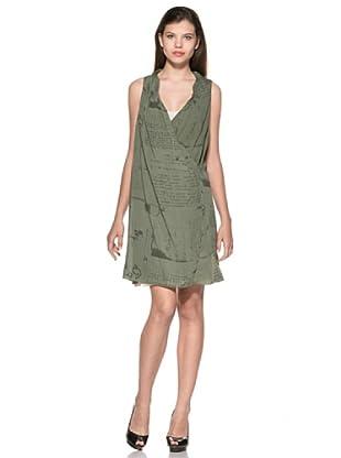 Eccentrica Vestido Isobel (Verde Oliva)