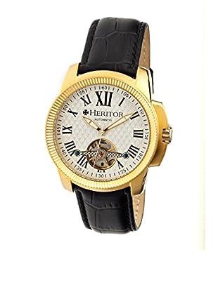Heritor Automatic Uhr Franklin Herhr2903 schwarz 46  mm