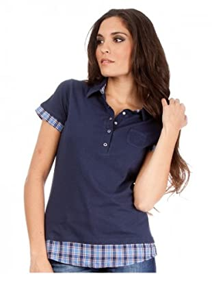 Cortefiel Poloshirt (Dunkelblau)
