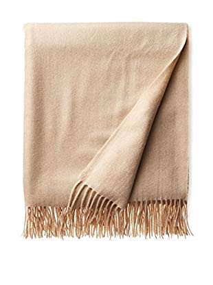 Amicale Cashmere Throw, Oatmeal