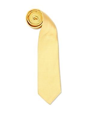 Olimpo Corbata Cuadros Amarillo