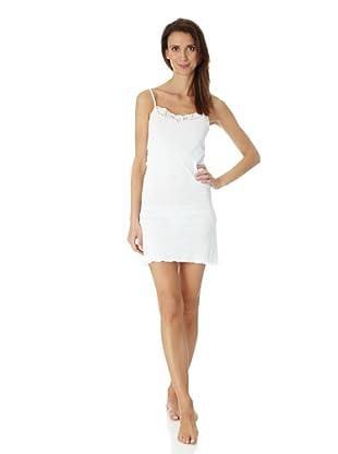 Hanro Bodydress Peony (Weiß)